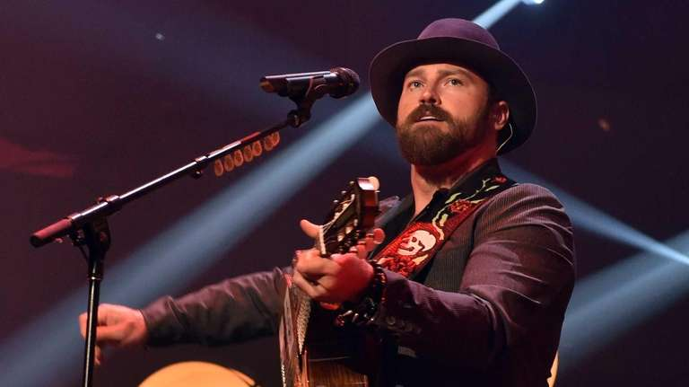 Zac Brown of the Zac Brown Band performs