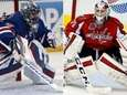 Rangers goalie Henrik Lundqvist, left, and Capitals goalie