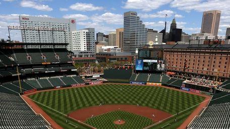 Baltimore Orioles starting pitcher Ubaldo Jimenez throws the