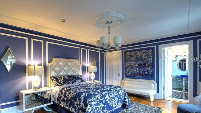The Rhapsody in Blue bedroom designed by New