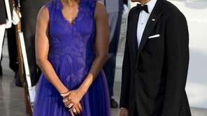 Michelle Obama wore a dress by Japanese-born designer