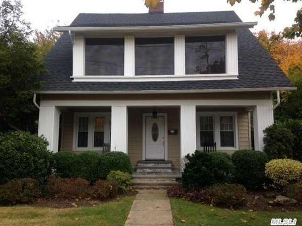 This 1920 Colonial in Baldwin recently sold for