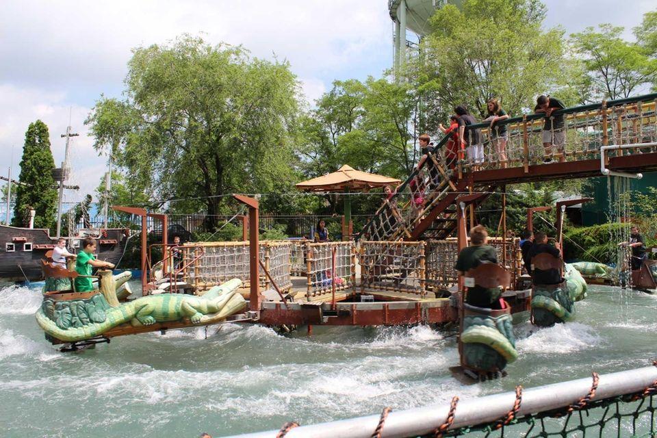 Hit the rides at Adventureland in Farmingdale (2245