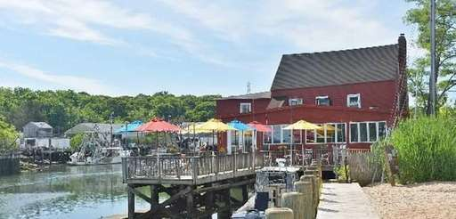 The Old Mill Inn on Mattituck Inlet is