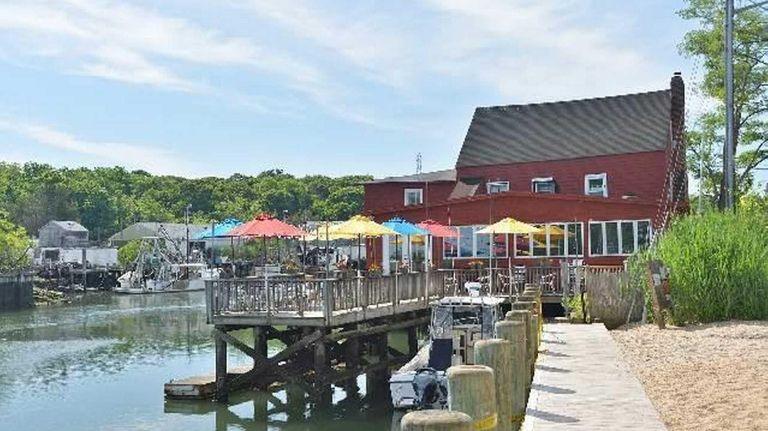 The Old Mill Inn on Mattituck Inlet is