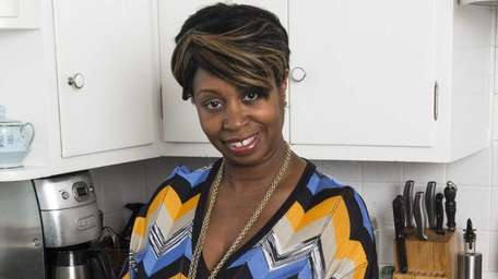 Vanessa Leggard of Sag Harbor likes to serve