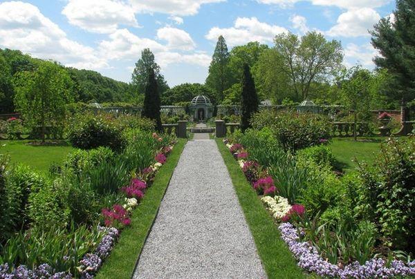 Stroll through Old Westbury Gardens on Sunday, May