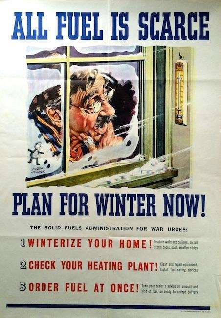 On the home front during World War II,
