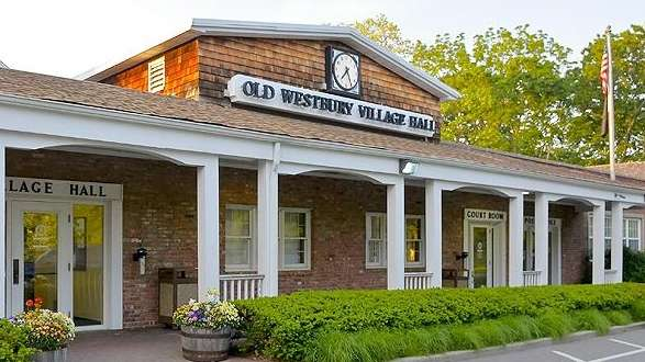This is the Old Westbury Village Hall in