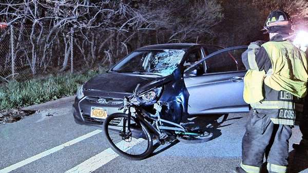 A bicyclist died after a Holbrook man driving