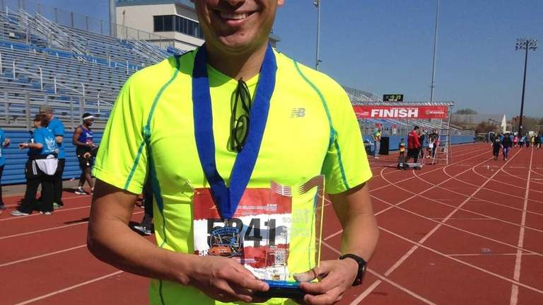Uriel Plata, 37, of Mexico City, took first