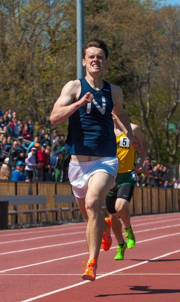 Northport's Michael Brannigan wins the boys 800-meter run