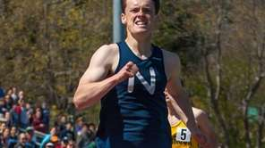 Northport's Michael Brannigan wins the boys 800-meter run