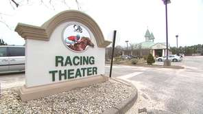 Suffolk OTB's Racing Theater is shown in this