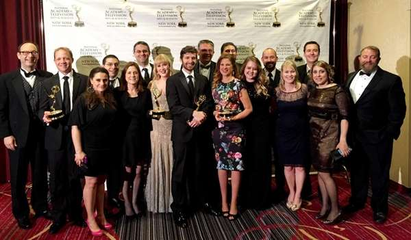 Newsday won at least five New York Emmy