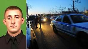 Police officer Brian Moore, 25, was shot in