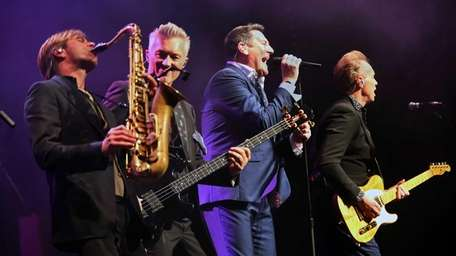 Spandau Ballet takes the stage for a concert