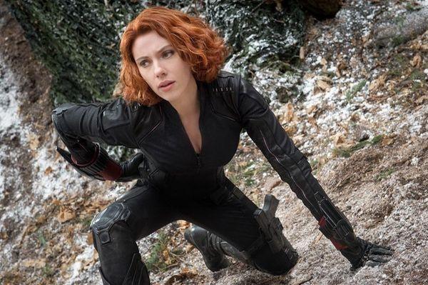 Scarlett Johansson as Black Widow/Natasha Romanoff, in the
