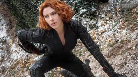 Scarlett Johansson as Black Widow/Natasha Romanoff, in the
