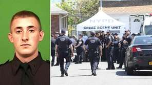 NYPD Officer Brian Moore, 25, was shot in