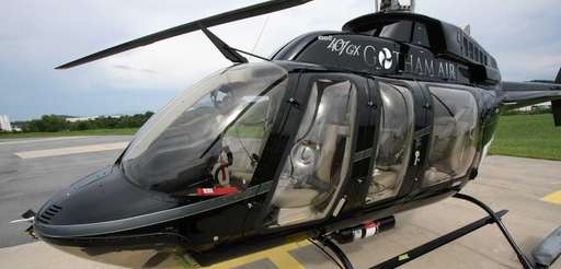 The Bell 407 GX helicopter is a new