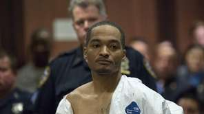 Demetrius Blackwell appears in court for his arraignment