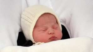 Prince William and Catherine, Duchess of Cambridge's baby