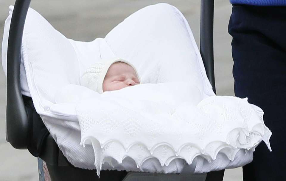 Charlotte Elizabeth Diana, daughter of Britain's Prince William