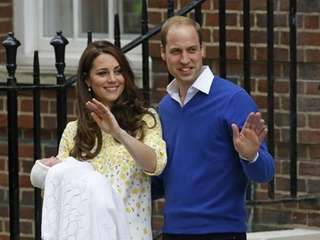 Britain's Prince William and Kate, Duchess of Cambridge,