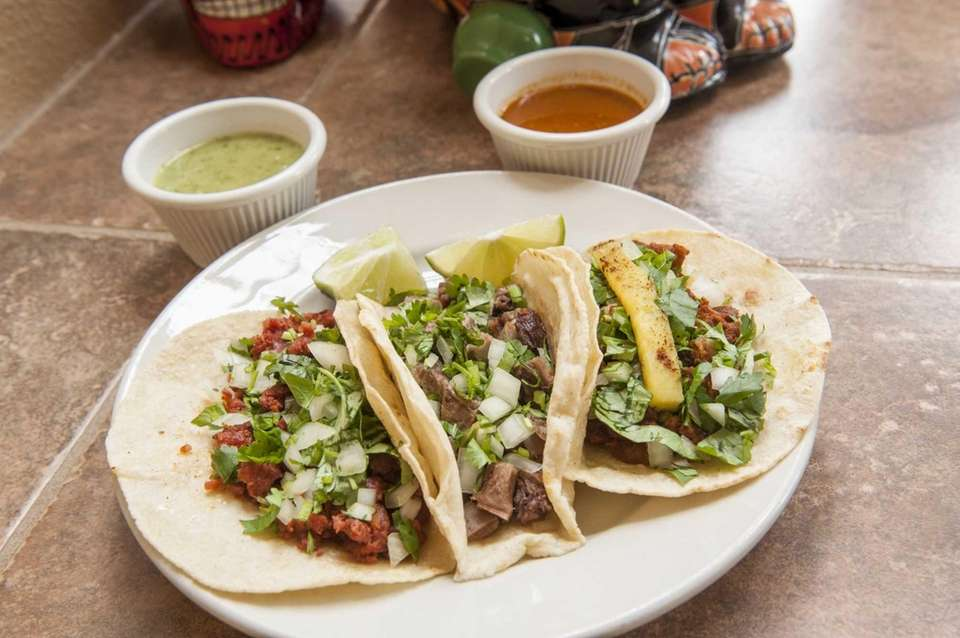 The menu is impressive at Riverhead's Taqueria Cielito