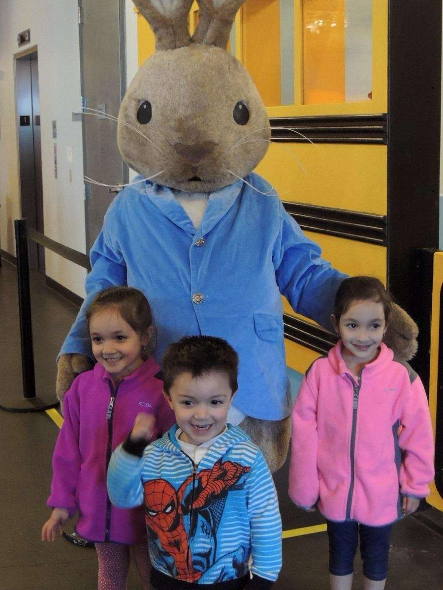 Peter Cottontail will be visiting the Long Island