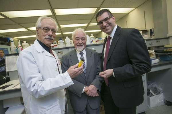 Stony Brook researchers and drug compound inventors, from