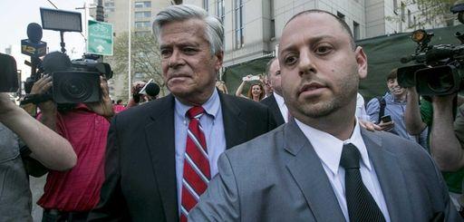 New York Senate Majority Leader Dean Skelos and