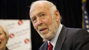 James Simons, who founded East Setauket-based Renaissance Technologies,