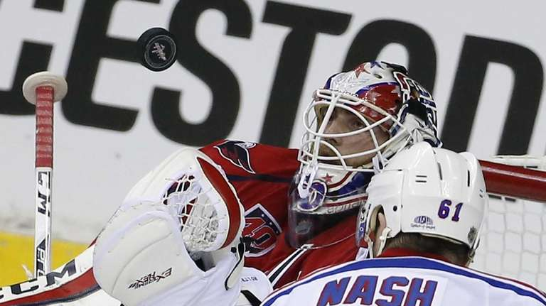 Capitals Goalie Braden Holtby Is Focused On Finding The Zone Newsday