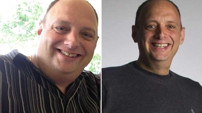 Ken Krinsky, of Huntington, has lost 117 pounds