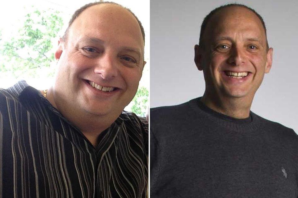 Ken Krinsky, of Huntington, has lost 117 pounds
