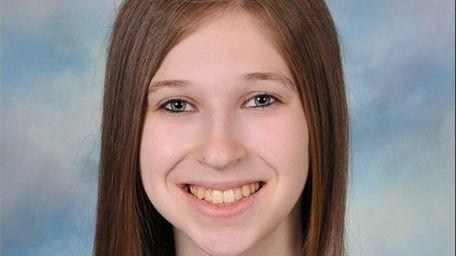 Beatrice Brown, 18, a senior at John F.