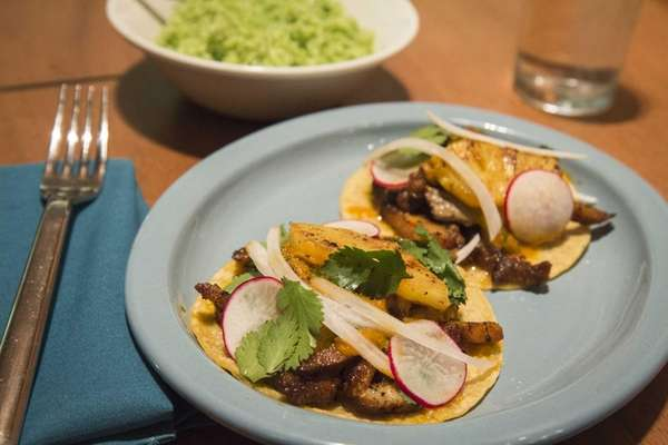 The tacos at Tocolo Cantina in Garden City
