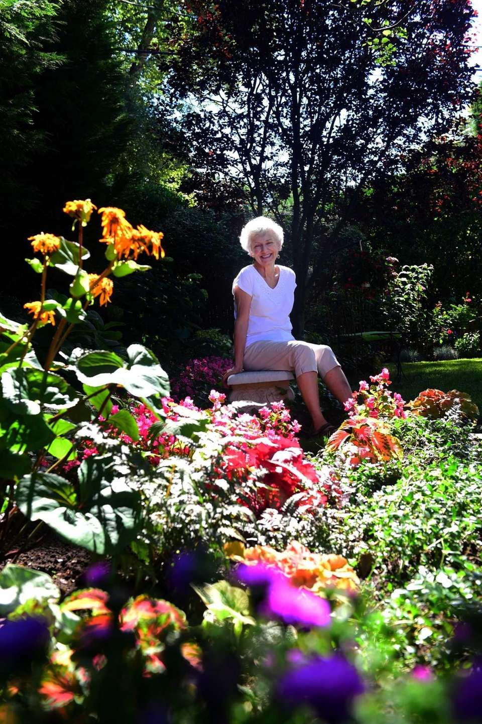 Connie Ring of Plainview has been gardening in