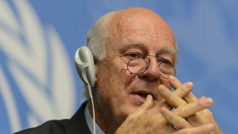 The UN Special Envoy of the Secretary General