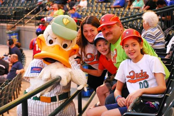 Brunch with the Long Island Ducks on Mother's