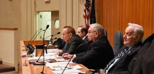 Ethics board members listened to grievances from local