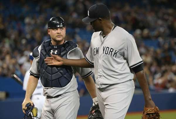 Michael Pineda of the New York Yankees talks