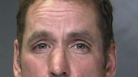 Shawn Eldridge, 46, of East Patchogue, was arrested