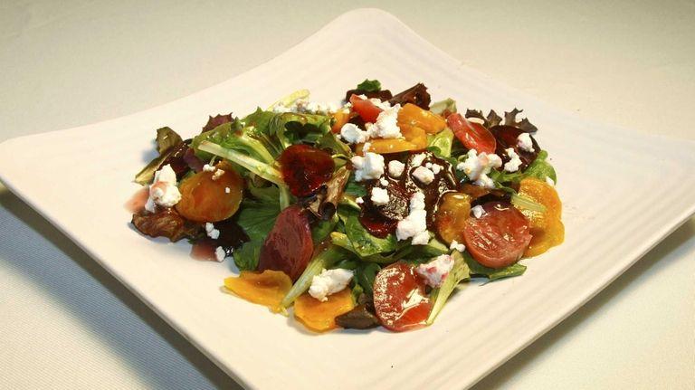 Tricolor beet salad at the new Good Eats