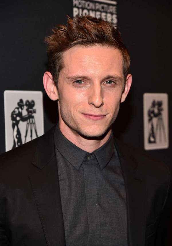 Actor Jamie Bell attends 2015 Will Rogers Pioneer