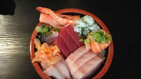 Chirashi is one of the classic sushi entrees