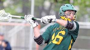 Lynbrook's Owen Daly takes a shot during a