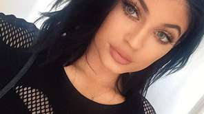 Kylie Jenner poses in an undated Instagram photo.